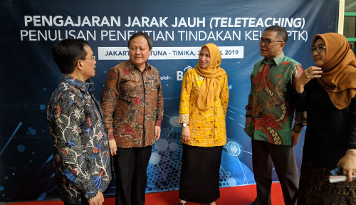 Foto Palapa Ring Rampung, Masa Depan Pendidikan Indonesia Bakal Cerah