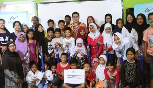 Foto WOM Finance Edukasi Anak Jalanan tentang Pendidikan Seksual