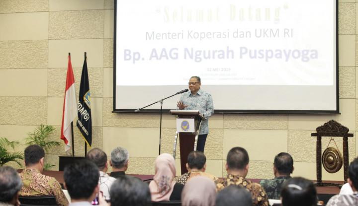 Menteri Puspayoga Imbau Koperasi Garuda Indonesia untuk Bersatu