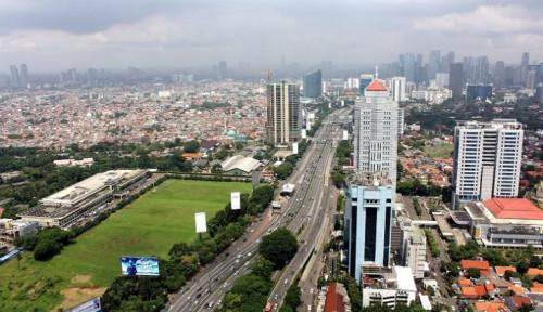 Foto Jakarta Diramal Akan Tenggelam