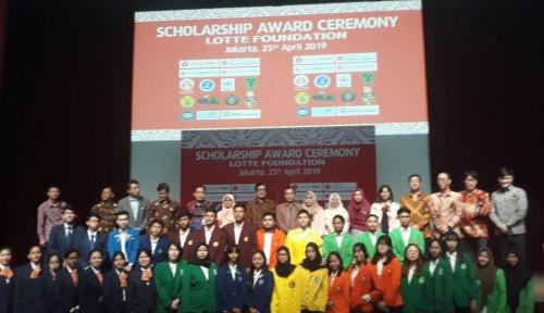 Foto Lagi, Lotte Foundation Bagi-Bagi Beasiswa ke Universitas