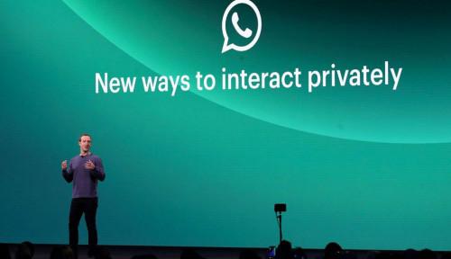 Foto Mark Zuckerberg Cerdasnya Bukan Main, WhatsApp Bakal Bisa Belanja Online!