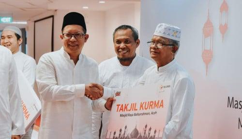 Foto Ramadan 1440 H, Telkomsel Serahkan 24 Ton Kurma Hingga ke Medan