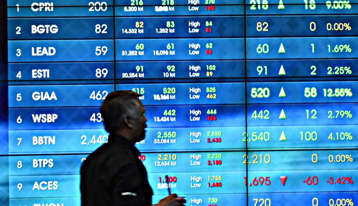 Cihuy! IHSG Ditutup Hijau 0,65% di Akhir Sesi I - Warta Ekonomi