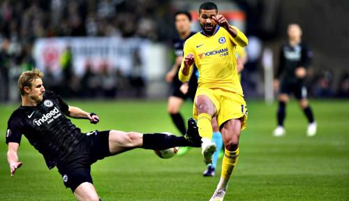 Foto Chelsea Sukses Lewati Hadangan Frankfurt, Imbang 1-1