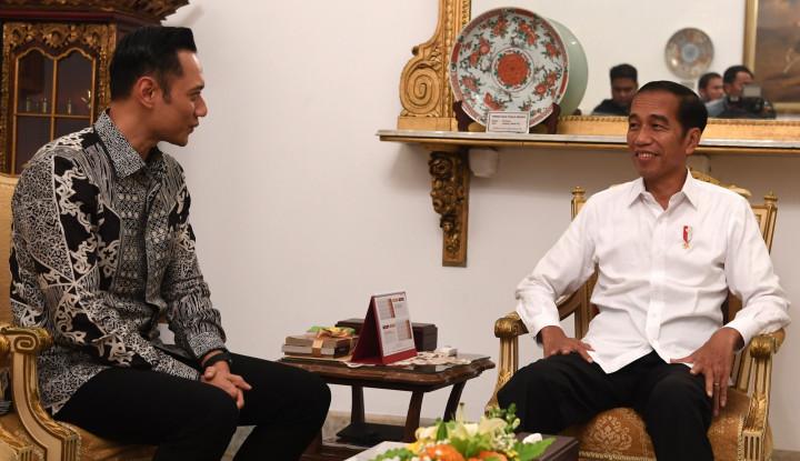 AHY Masih Mungkin Masuk Gerbong Menteri Baru Jokowi - Warta Ekonomi