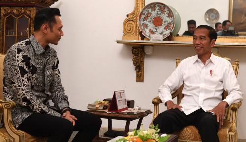 Foto Siap Jika Jokowi Minta Jadi Menteri, AHY Ngarep Banget?