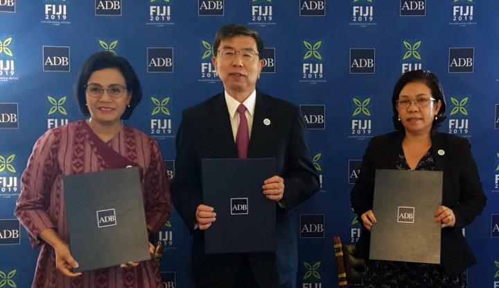 Indonesia, Timor Leste, dan ADB Tanda Tangani MoU Kerja Sama Lintas Batas - Warta Ekonomi