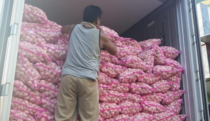 Andi Amran Blacklist 56 Importir Bawang Putih - Warta Ekonomi