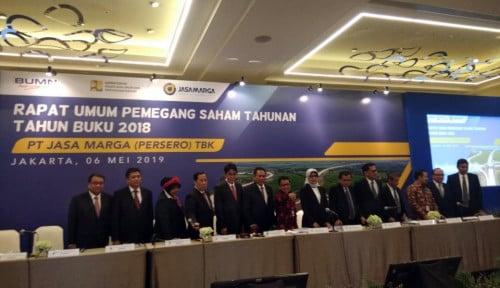 Foto Bukukan Laba Bersih Rp2,20 Triliun, Jasa Marga Tebar Dividen 15%