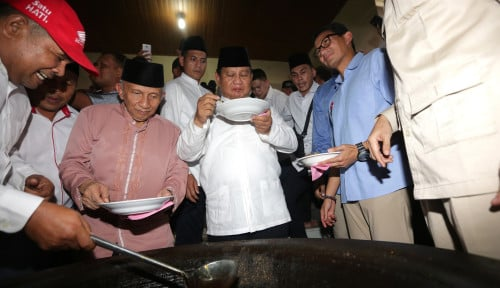 Foto Baiknya, Prabowo Cs Puasa Hingga 2024