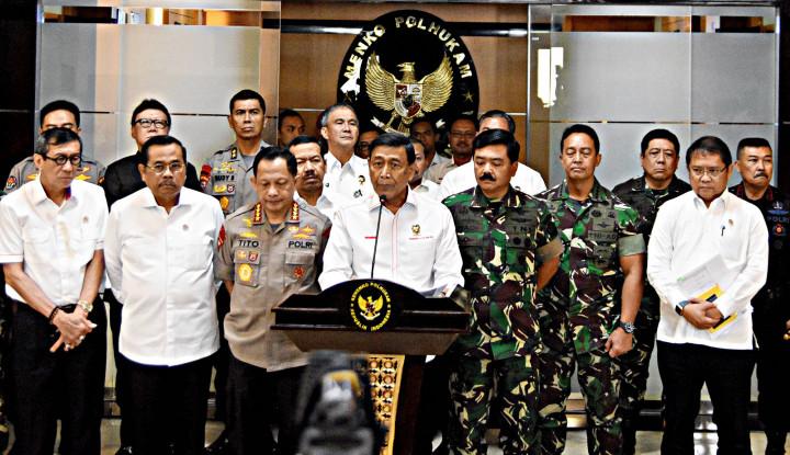 Moeldoko Luruskan Pernyataan Wiranto yang Bengkok Soal Shutdown Media - Warta Ekonomi
