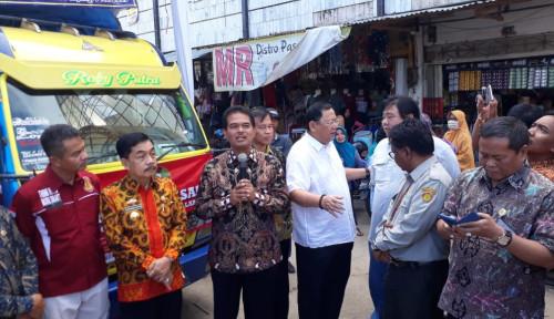 Foto Kementan Operasi Pasar di Lampung, Harga Bawang Putih Rp25 Ribu Per Kg