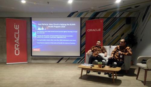 Foto Pantau Mudik Bareng, Jasa Raharja Gunakan Teknologi Oracle