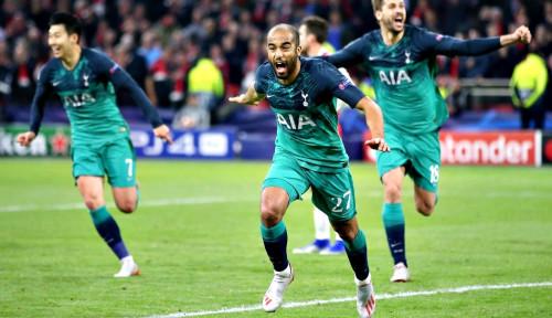 Foto Oh My Word, Tottenham Menang Dramatis atas Ajax 3-2