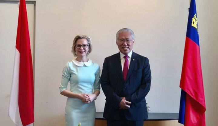 Indonesia-Liechtenstein Sepakat Tingkatkan Kerja Sama Perdagangan dan Investasi - Warta Ekonomi