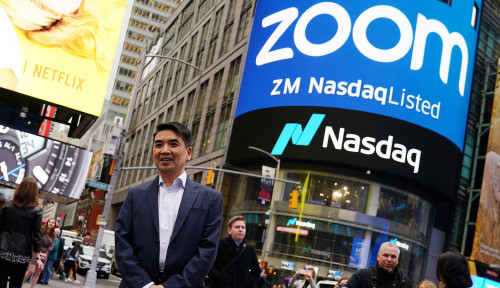 Eric Yuan, Pendiri Layanan Zoom dengan Kekayaan Miliaran Dolar AS