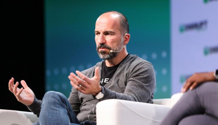 Saham Anjlok, CEO Uber Yakinkan Karyawannya Lewat Email, Begini Isinya - Warta Ekonomi