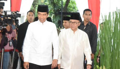 Foto Temui Jokowi, Zulkifli Tidak Minta Jatah Menteri?