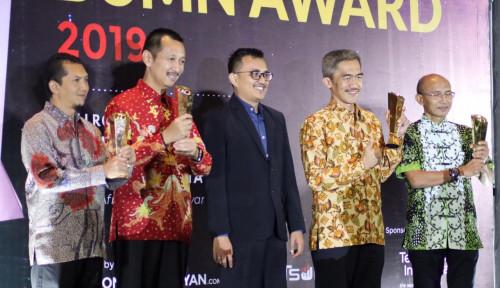 Foto Tujuh BUMN Sabet Penghargaan di TBA 2019