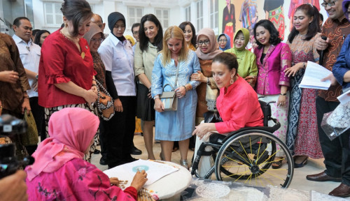 Foto Bangga! Wapres Argentina Terpukau dengan Gedung Smesco Indonesia dan Akan Lakukan Ini!
