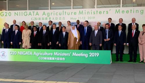 Foto Keren! Kemajuan Pertanian Indonesia Mampu Hipnotis Anggota Forum G20