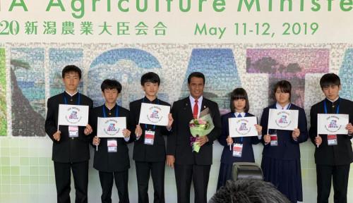 Foto Di Forum G20, Amran Bilang Pembangunan Pertanian Butuh Peran Petani Kecil dan Anak Muda