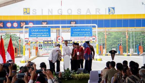 Foto Tol Baru Ini Diresmikan, Surabaya ke Malang Hanya Sekitar Satu Jam