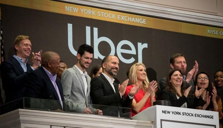 Saham Taksi Online Ini Anjlok Sebulan Penuh, Karena Rugi Sampai.... - Warta Ekonomi