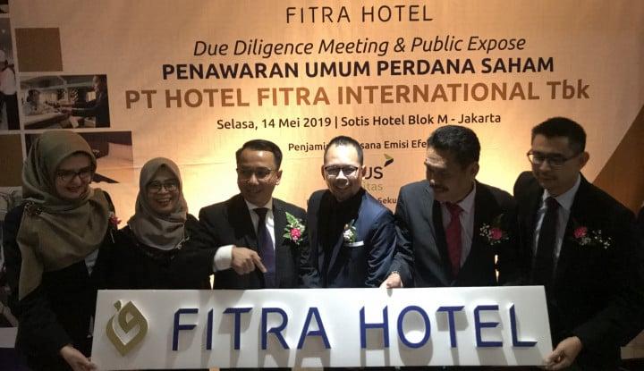 Incar Dana Rp23 M dari IPO, Fitra Hotel Mau Bangun Hall