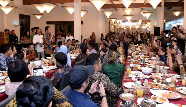 Jokowi ke Wartawan: Mengikuti Saya Itu Capek - Warta Ekonomi