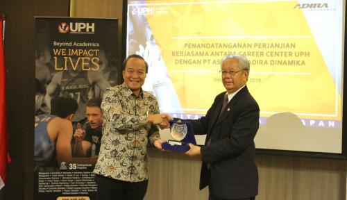Foto Gandeng UPH, Adira Insurance Kembangkan Tenaga Kerja Asuransi Umum