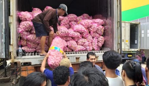 Foto Importir Bawang Putih Nakal, Siap-siap Terima Sanksi Kementan