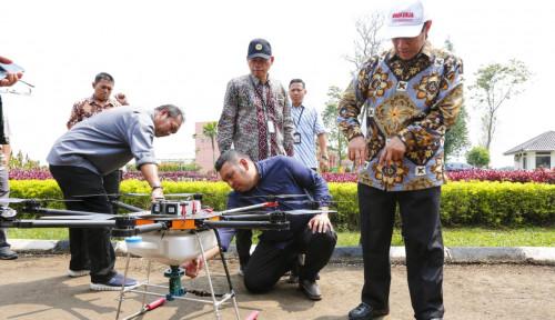 Foto Canggih! Kementan Luncurkan Alsintan yang Didukung Revolusi Industri 4.0