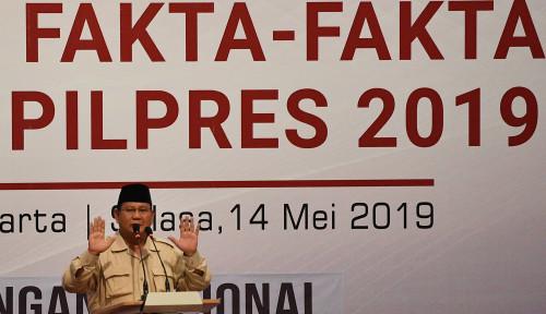 Foto Prabowo Masih Punya Waktu Batalkan Jokowi 2 Periode