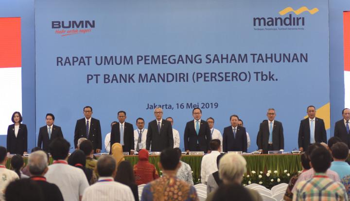 Bank Mandiri Sebar Dividen Rp11,2 Triliun, Segini Per Saham . . . - Warta Ekonomi