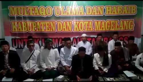 Foto Multaqo Ulama Tolak Mentah-mentah Provokasi People Power