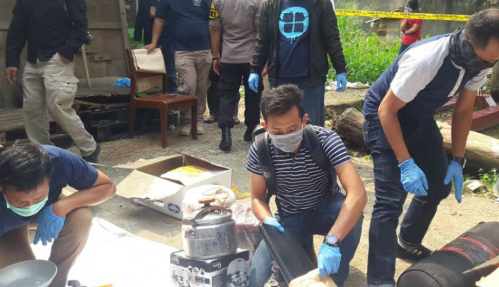 Terduga Teroris Bogor Berencana Ledakkan Bom Pada 22 Mei di KPU