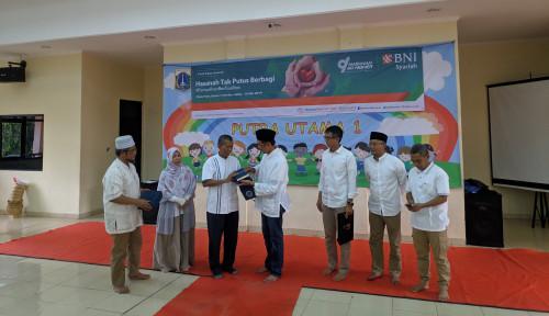Foto BNI Syariah Salurkan Bantuan Rp1,4 Miliar ke Anak Yatim Piatu dan Dhuafa