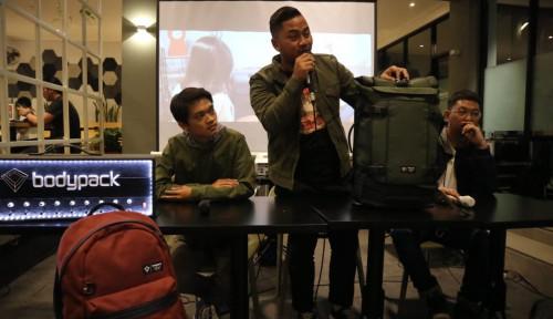 Foto Tak Cuma Promo, Ini Strategi Bodypack Tembus Industri Tas Indonesia