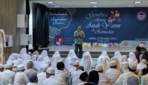 Foto Sarinah Rayakan Ramadan Bersama 100 Anak Yatim