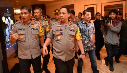 Foto 22 Mei, Polisi Amankan Seluruh Tempat yang Jadi Target Teroris