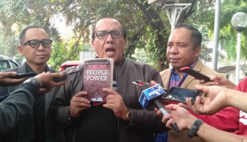 Foto Kuasa Hukum Eggi Sudjana: People Power Ada Sejak Jokowi Pemilu 2014