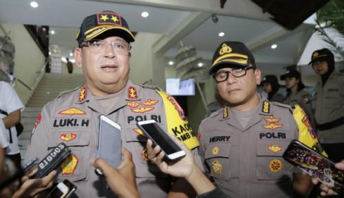 Foto Polisi Batalkan Keberangkatan Tiga Bus yang Mau Aksi 22 Mei di Jakarta