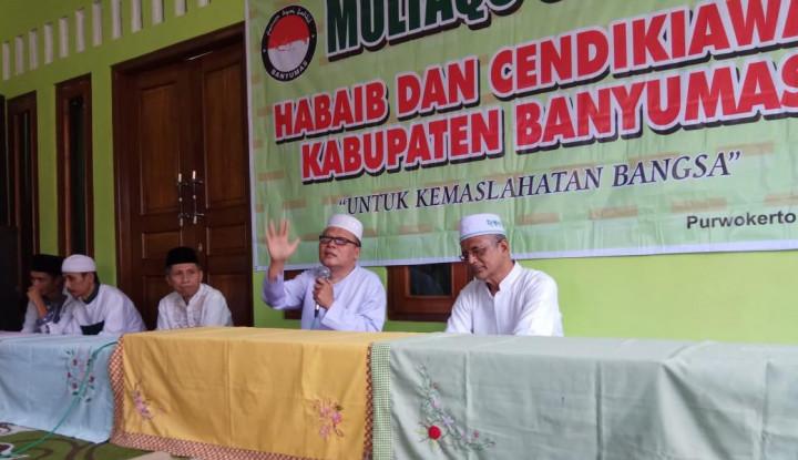 Kyai, Habib dan Ulama se-Banyumas Tolak Provokasi People Power - Warta Ekonomi