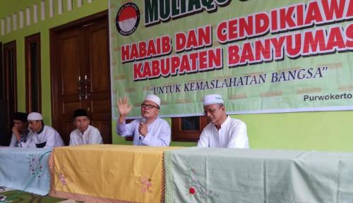 Foto Kyai, Habib dan Ulama se-Banyumas Tolak Provokasi People Power