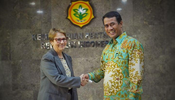 Kunjungi Kementan, Brazil Buka Peluang Ekspor Komoditas Pertanian Indonesia - Warta Ekonomi