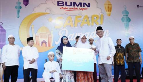 Foto Di Tarakan, Tiga BUMN Ini Bersinergi Gelar Safari Ramadhan