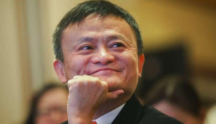Foto Berita Akhirnya! Jack Ma Muncul Juga di Acara Publik!