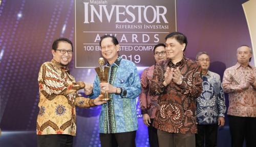BBCA BCA Dinobatkan sebagai Emiten Terbaik di Investor Award 2019